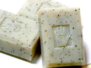 Bars of Rosemary and Kelp Soap, Handmade with Organic ingredients