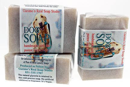 dog soap, Handmade with Organic ingredients