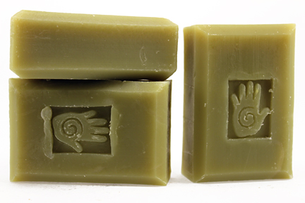 Bars of Siberian Fir Soap, Handmade with Organic ingredients