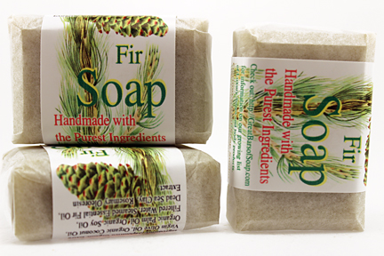 fir Soap, Handmade with Organic ingredients