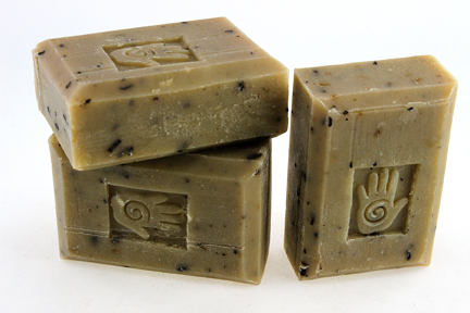 Bars of Organic Green Tea Chai Soap, Handmade with Organic ingredients
