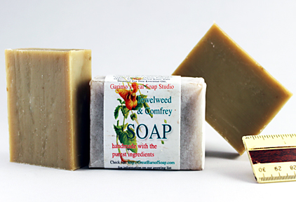 Bars of Speckled Lavender Soap, Handmade with Organic ingredients