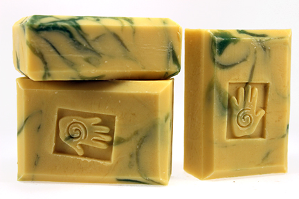 Bars of Lemongrass Soap, Handmade with Organic ingredients