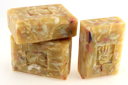 Bars of Organic May Chang Soap, Handmade with Organic ingredients
