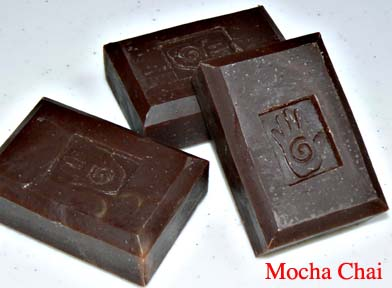 Bars of Mocha Chai Soap, Handmade with Organic ingredients