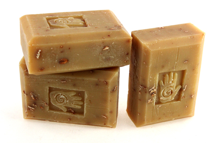 Bars of Organic Oatmeal Chai Soap, Handmade with Organic ingredients