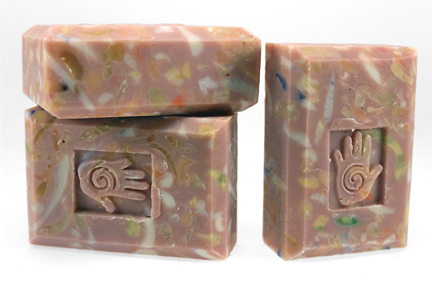 Bars of Patchouli Soap, Handmade with Organic ingredients