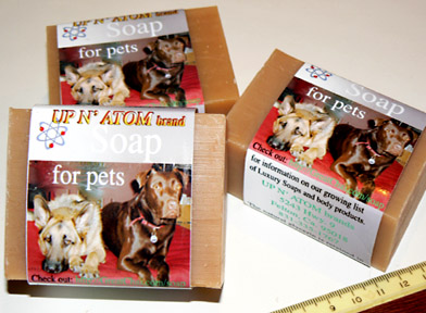Bars of Soap for Pets, Handmade with Organic ingredients, Handmade with Organic ingredients