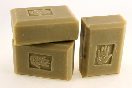 Bars of Organic Rosemary and Sage oil Soap, Handmade with Organic ingredients