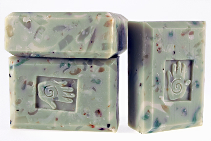 Bars of Peppermint Soap, Handmade with Organic ingredients
