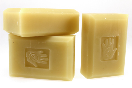 Bars of 100% Extra Virgin Olive Oil Soap, Handmade with Organic ingredients